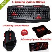 ınca Ikg 330 Gamıng Oyuncu Klavye+mouse+mouse...