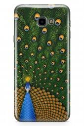 Samsung Galaxy J4 Plus Kılıf Silikon Arka Kapak Koruyucu Tavuz Ku