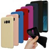 Samsung Galaxy S8 Plus (G955) Premium Simple Silikon Arka Kapak K