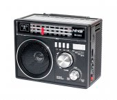Nns 1361 Güneş Enerjili Bluetooth Nostalji Fm Radyo Usb Sd Mp3