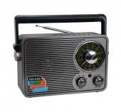 Kemai Md 1176 Şarjlı Nostaljik Bluetooth Hoparlör Fm Radyo Usb Sd Mp3