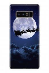 Samsung Galaxy Note 8 Kılıf Silikon Arka Kapak Koruyucu Noel Baba