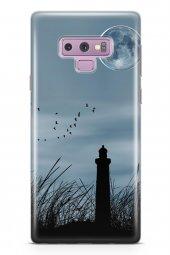 Samsung Galaxy Note 9 Kılıf Silikon Arka Kapak Koruyucu Deniz Fen