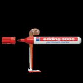 Edding Markör Permanent 1.5 3 Mm Kırmızı Yuvarlak ...
