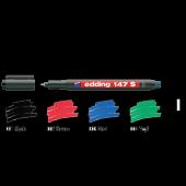 Edding Asetat Kalemi Permanent S Seri 0.3 Mm Siyah 147 S