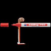 Edding Markör Boya 2 4 Mm Yuvarlak Uçlu Kırmızı 750