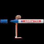 Edding Markör Boya 2 4 Mm Yuvarlak Uçlu Mavi 750