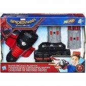 Spiderman Süper Dart Fırlatıcı Film Özel B9702...