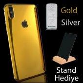Iphone 6 6s Kılıf Metalik Sticker Kaplama 360 Full Body