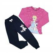Kız Çocuk Pijama Takımı 7 11 Yaş Pembe C74146