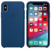 ıphone X Xs Orijinal Silikon Kılıf Horizon Mavi...