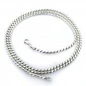 Snake Yılan 70 Cm 2.2 Mm Gümüş İtalyan Erkek...