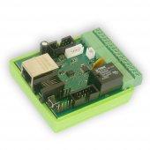 Wifidepo Lan Röle (Lan Relay) Otomasyon Ünitesi V3 (Ethernet İnternet Röle Kontrol Kartı)+ 24v Adpt.