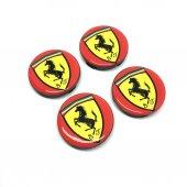Ferrari Damla Geçme Jant Göbeği 4lü 55mm