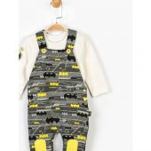 Batman Bebek Salopet Takım 14675-3