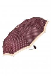 Snotline Tam Otomatik 10 Telli Kadın Şemsiyesi Güneş Desenli Kırm