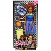 Barbie Fashionista Bebek Ve Kıyafetleri Fjf67...