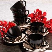 Black 6lı Çay Takımı