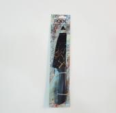 Rocc Seramik Kaplama Kalın Siyah Doğrama & Dilimleme Şef Bıçağı