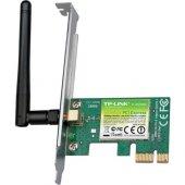 TP-LINK TL-WN781ND 150Mbps KABLOSUZ PCI EXP ADAPTÖ