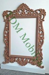 Ahşap Ayna Çerçevesi Cnc İşlemeli Ahşap Çerçeveler Tdm Ayna 00004