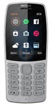 Nokia 210 Gri Tuşlu Cep Telefonu(İthalatçı Garantili)