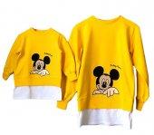 Mickey Mouse Baskılı Anne Çocuk Kombini - Anne Çocuk Giyim