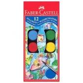 Faber Castell Suluboya 12 Renk Büyük Boy