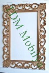 Ahşap Ayna Çerçevesi. Cnc İşlemeli Ahşap Çerçeveler Tdm Ayna 00008