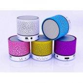 Mini Işıklı Ses Bombası Ses Topu Bluetooth...