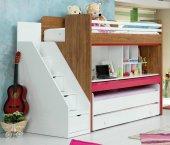Uğur Genç Odası Smart Fuşya Ranza Compact