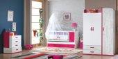 Uğurlu Bebek Odası Tiffany Fuşya Takım