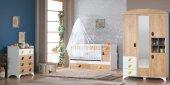 Uğurlu Bebek Odası Milano Ceviz