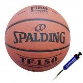 Spalding Tf150 Basketbol Topu + Top Pompası
