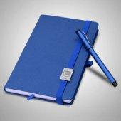 Mavi Defter Ve Kalem Seti Üstüne İyilik Sağlık
