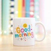 Kişiye Özel Good Morning Kupa Bardak