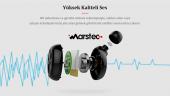 Marstec MBT-19 Tekli Bluetooth Kulaklık (Siyah)-5