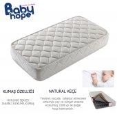 80x180 Babyhope Ortopedik Yaylı Yatak 80*180 Mobilya Beşik Yatağı