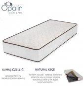 80x130 Opalin Ortopedik Yaylı Yatak 80*130 Yaylı Bebek Yatağı