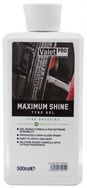 Valet Pro Maximum Shine Tyre Gel Lastik Parlatıcı Jel 500ml