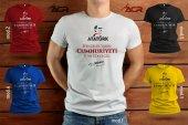 TYCB003 - Baskılı T-Shirt Cumhuriyet Bayramı Tişört Dizayn 29 Ekim Tshirt Bastırmak Yetişkin İçin Özel Tasarım Tişört