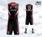 Bfs011 Basketbol Forma Yaptırma, Özel Basketbol Forması Ve Basketbol Şortu, Dijital Baskı, Tasarım Forma Dizayn Acr