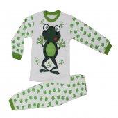 Kurbağalı Kız Ve Erkek Çocuk Mevsimlik Pijama Takımı