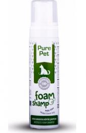 Pure Pet Durulanmayan Köpük Şampuan Misket...