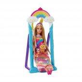 Mattel Dreamtopia Gökkuşağı Prensesi Ve Salıncağı Barbie Bebek