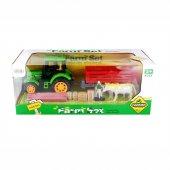 Samatlı Oyuncak Traktör ve Çiftlik Seti