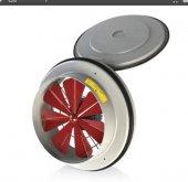 Fanex Kapaklı Ve Flanşlı Aksiyal Aspiratör Havalandırma Fan 200mm