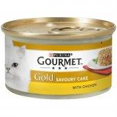 Gourmet Gold Savoury Cake Tavuklu Kedi Konservesi ...