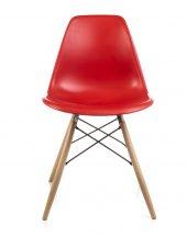 Dorcia Home Eames Sandalye Kırmızı