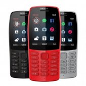 Nokıa 210 Siyah Gri Tuşlu Cep Telefonu